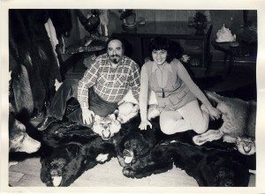 Eric and Lora in the 1970s